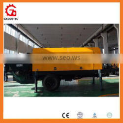 Automatic Lubrication System Concrete Trailer Pump Concrete Machine