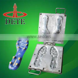 rubber/tpr outsole mold for Soccer shoes steel shoe sole mould designers in china wenzhou