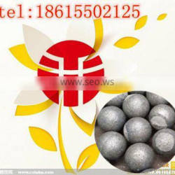 Jinan entered in the production of high quality more types of 130 mm low chromium cast ball used in aluminum plant