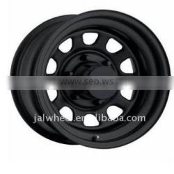 """4x4 Steel Rims of 15x8.0"""" for Offroad Cars"""