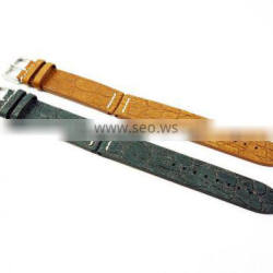 High Quality Hand Stitched Italian Embossed Leather Watch Straps