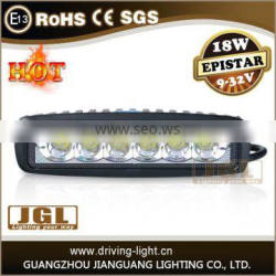 Spot/flood led work light 18w led driving light for off road motorcycle heavy-duty machines