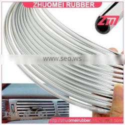 Chrome U Channel Edge Trim 7mmx5mm