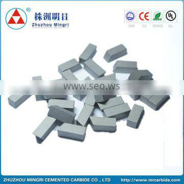 YG6 tungsten carbide saw tips for cutting tools