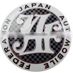 Stable Factory Price Standard Hydrographics JAF Front Grill Badge