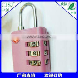 Luggage lock Zinc alloy 3 digital combonation TSA lock/padlock TSA-390