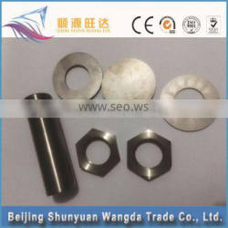 titanium filter non-standard cnc titanium screw products