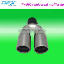 auto spare tuning stainless steel 304 universal sport function exhaust muffler silencer tail