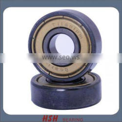 Spin 5 minutes 20 seconds 608 8*22*7 shield Inline titanium skate bearing