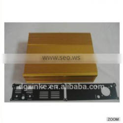 High Quality Aluminum Extrusion Profile AMP Enclosure Heat Sink.
