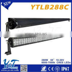 Cheap aluminum housing 50inch led lighting bar for offroad