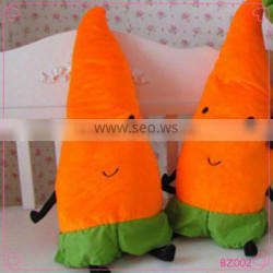 2016 Hot Sale In Stock High Quality wholesale Soft Cute Carrot Pillow