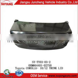 Good Price Tail Gate for Toyota Hiace 10-12 japanese cars auto parts toyota