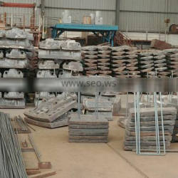 High Manganese Steel Mill Liner for Ball Mill/Rod Mill