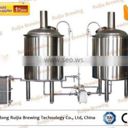 beer brewing equipment used stainless steel hot water tank 500L