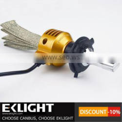 Emark TUV ISO CE approved EKLIGHT Smart canbus H1 H7 H4 H11 9006 9012 led headlight kit