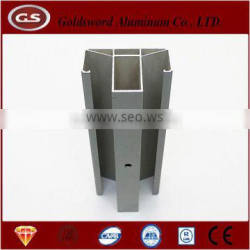 Anodized aluminum extrusion profiles for window