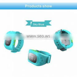 Cheap newly design kids guard gps watch tracker cellphone