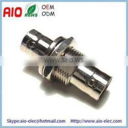 BNC female jacke to BNC female jack Barrel Coupler adaptor connector for Video Wall plate and panel