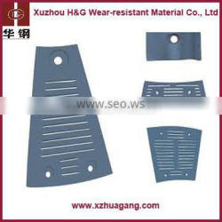 High quality high chrome cast liner for ball mill