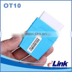 Mini gps tracker obd ii with ECU diagnostic tool