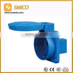 SCHUKO IP54 male and female industrial plug and socket