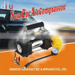 LED light Car air compressor, heavy duty air compressor