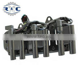 R&C High Quality Car Spark Coils Koil Pengapian mobil 27301-37100 2730137100 0986221020 For HYUNDAI Sonata Auto Ignition Coil