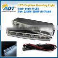 Car 10 LED DRL Daytime Running Light Driving best light Fog Light Lamp