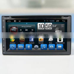 Kaier Supplier double din 6.95'' Car GPS DVD Radio Stereo universal with Bluetooth/SWC/Virtual 6CD/3G /ATV/iPod