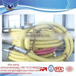 Steel Wire Spiralled rotary hose drilling hose cement vibrator hose