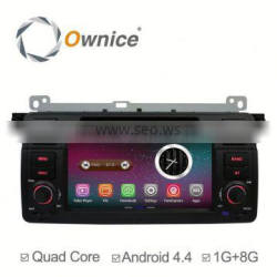 Ownice quad core RK 3188 Android 4.4 & Android 5.1 car stereo for BMW E46 M3 3 serise support TV