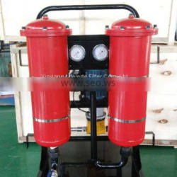 High-precision mobile oil filter unit to waste oil treatment