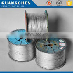 hot dipped zinc wire rope