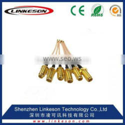 (hot sale) SMA female to ufl coaxial connector with RG178