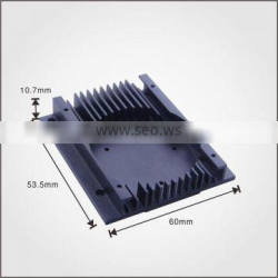 Customized extruded electronic VGA heatsinks for cooling system