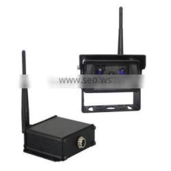 100% Manufacturer DC 12-32V Night Vision 2.4G Digital Wireless Camera + 2.4G Digital Wireless Receiver for Truck Trailer