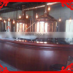 home brewery 100l beer brewing equipment in hotel