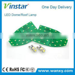 CE ROHS 100% manufacture direact led dome roof lights for BEN.Z W211 12V car interior dome roof led lighting lighting