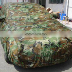 high quality univeral Chian wholesale 190T camouflage car cover