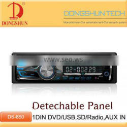 1din dvd multi-format mp3/4 player,with USB,SD,MP3,FM