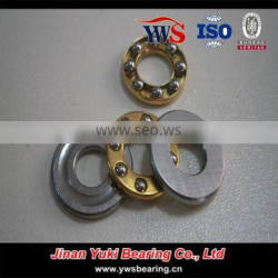 F3-8 F3-8M 3*8*3.5mm axial mini brass cage thrust ball bearing F3-8