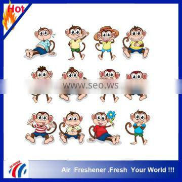 promotional hot selling funny car air freshener