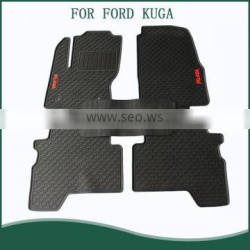 Wholesale Easy Clean Eco-friendly PVC Rubber Auto Car Floor Mats For FORD KUGA