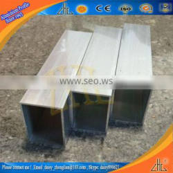 anodized aluminium square tube,customized aluminium 6061 t6 tube,OEM