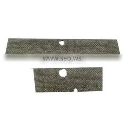 Different size sintered fiber felt