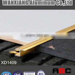 "Tile trim Aluminium flooring profile Connecting profile ""T"" shape-XD1409"