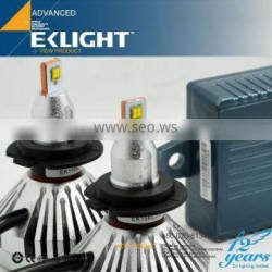 EK Smart System Super Bright And 100% Fitment Canbus Waterproof H1 H3 H4 H7 H8 H9 H11 H13 9003 9005 led headlight bulbs 12v 35w