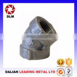 Cast iron pipe fittings galvanized construction parts OEM foundry