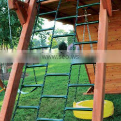 Plastisol-Coated Chain Ladder--Outdoor Playground Set Accessories For Kids